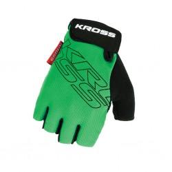 Rękawiczki rowerowe KROSS Depart Green