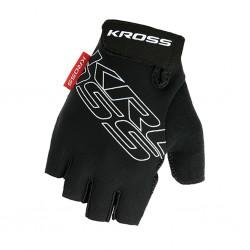 Rękawiczki rowerowe KROSS Depart Black