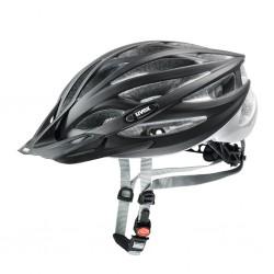 Kask rowerowy UVEX Oversize Black/Sliver