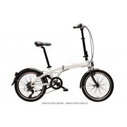 """Rower składany MAXIM MC 1.0 6-biegowy 20"""" White 2021"""
