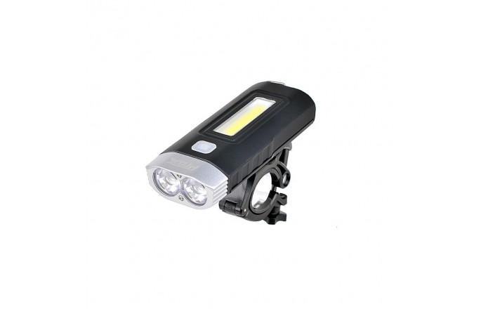 Lampka przednia PROX Taurus USB Black