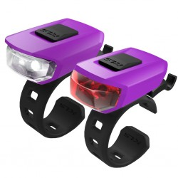 Zestaw lampek KELLYS Vega USB Purple