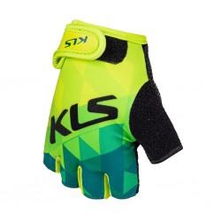 Rękawice rowerowe KELLYS Yogi Short Lime