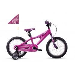 Rower dziecięcy GHOST Powerkid AL 16 Pink 2021
