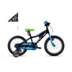 Rower dziecięcy GHOST Powerkid AL 16 Black 2021