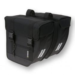 Torba na bagażnik BASIL Tour XL Double Bag Black