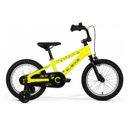 Rower dziecięcy M_BIKE Qki 16 Neon Yellow 2021