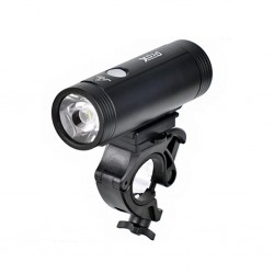 Lampka przednia PROX Spika 1100lm USB Black