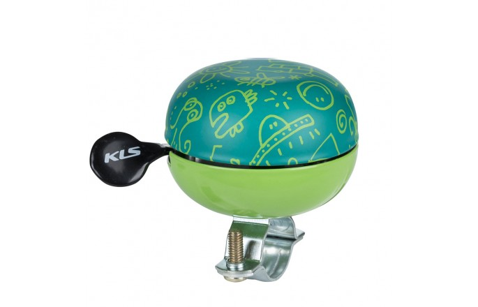 Dzwonek rowerowy KEELYS Bell 60 Doodles Zielony