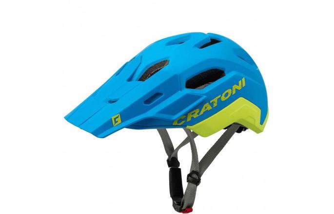 Kask rowerowy Cratoni C-Maniac 2.0 Trial Blue/Lime