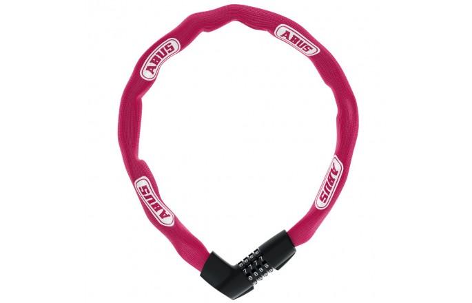 Zapięcie rowerowe ABUS 1385/85 Tresor Neon różowe