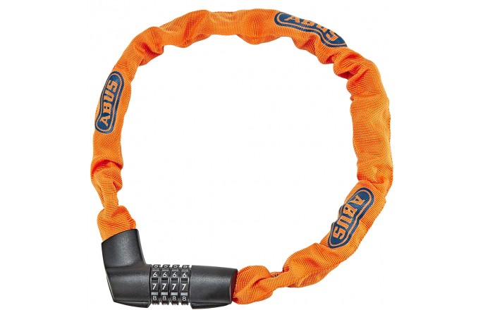 Zapięcie rowerowe ABUS 1385/75 Tresor Neon Orange