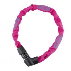 Zapięcie rowerowe ABUS 1385/75 Tresor Neon Pink