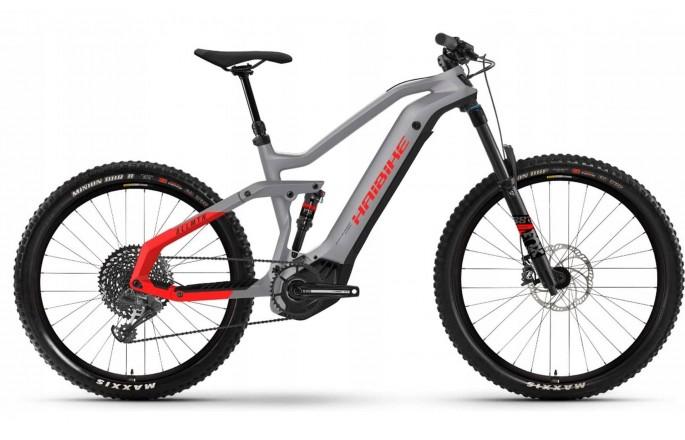 Rower elektryczny HAIBIKE AllMtn 6 Szary/Czerwony 2021