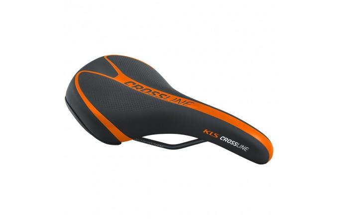 Siodło rowerowe KELLYS Crossline Orange