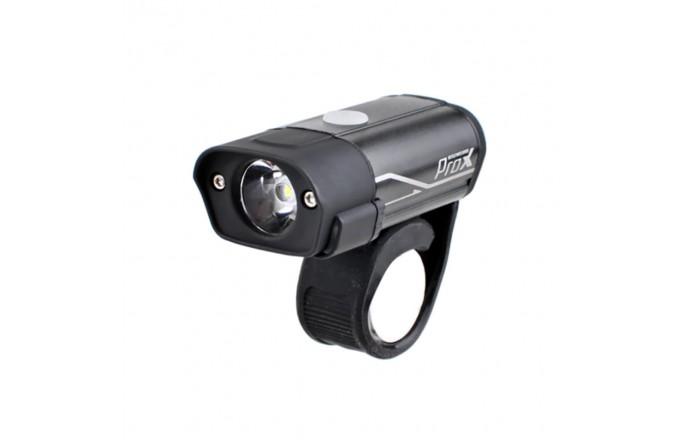 Lampka rowerowa przednia PROX Hydra 400lm USB