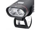 Lampka rowerowa przednia PROX Hydra Dual 500lm USB