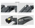 Zestaw błotników TOPEAK DeFender Set FX / RX 279er