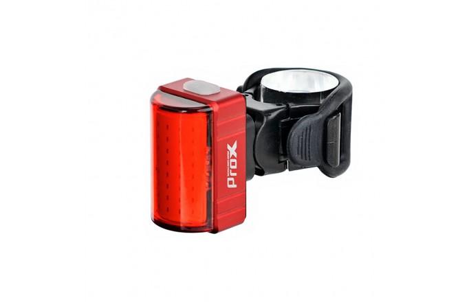 Lampka rowerowa tylna PROX Zeta S 80lm USB
