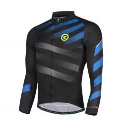 Koszulka rowerowa KELLYS Rival długi rękaw Blue