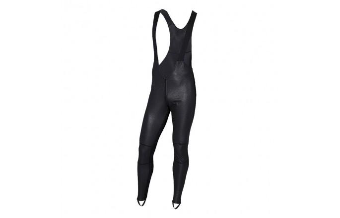 Spodnie rowerowe KELLYS Thermo Isowind z wkładką Black