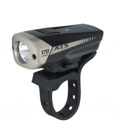 Lampka przednia KELLYS Spitfire Black USB