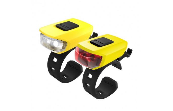Zestaw lampek KELLYS Vega USB Yellow