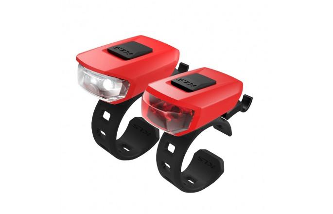 Zestaw lampek KELLYS Vega USB Red