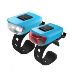 Zestaw lampek KELLYS Vega USB Sky blue