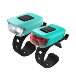 Zestaw lampek KELLYS Vega USB Turquoise