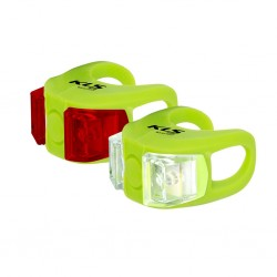 Zestaw lampek KELLYS TWINS Lime Green