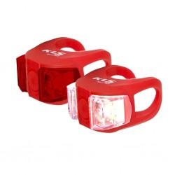 Zestaw lampek KELLYS TWINS Red