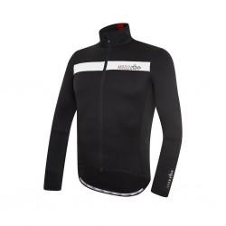Koszulka rowerowa ZeroRH+ Logo Thermo Black