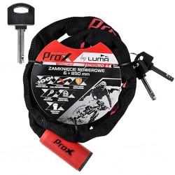 Zapięcie do roweru PROX Enduro 6 6x850 Łańcuch 85cm