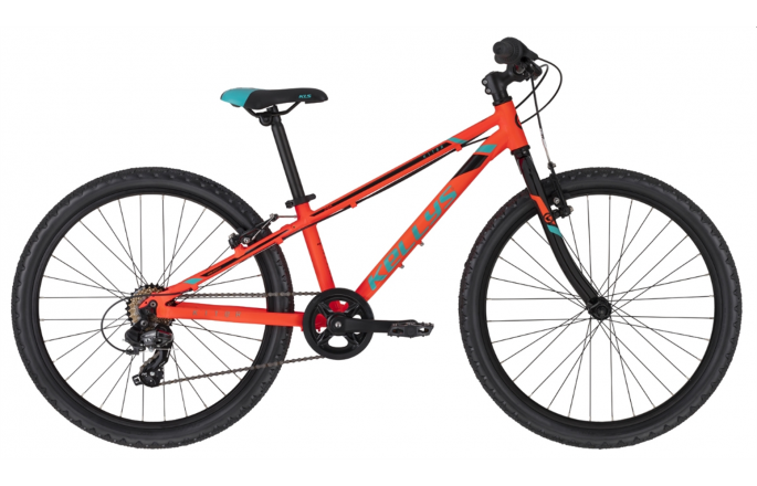"Rower KELLYS Kiter 30 Neon Orange 2021 24""/11"""