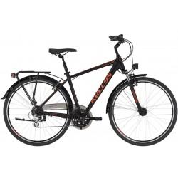 Rower trekkingowy KELLYS Carson 40 Black/Red 2021