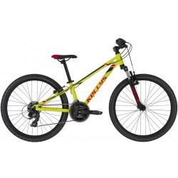 "Rower KELLYS KITER 50 Neon Yellow 2021 24""/11"""