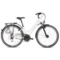 Rower trekkingowy KROSS Trans 3.0 White 2022