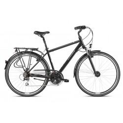 Rower trekkingowy KROSS Trans 3.0 Czarny 2021