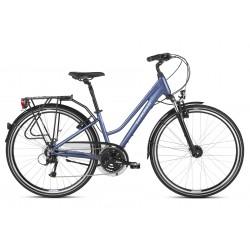 Rower trekkingowy KROSS Trans 4.0 Niebieski 2021