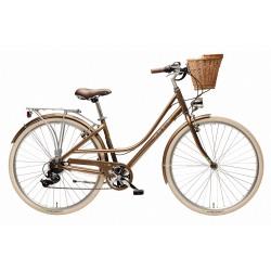 Rower miejski MAXIM MC 1.5.6 Brąz 2021