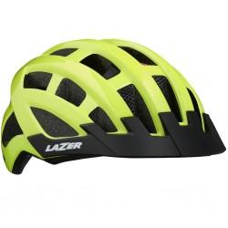 Kask rowerowy LAZER Compact DLX Yellow