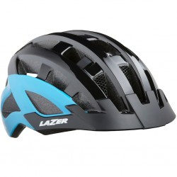 Kask rowerowy LAZER Compact DLX Black/Blue