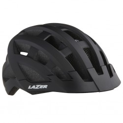 Kask rowerowy LAZER Compact DLX Black