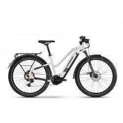 Rower elektryczny HAIBIKE Trekking 8 Trapez Biały 2021