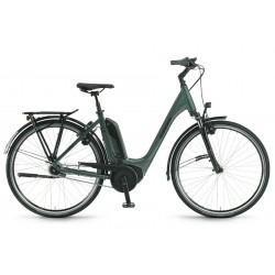 Rower elektryczny WINORA Tria N8 Monotube Oliwka 2021