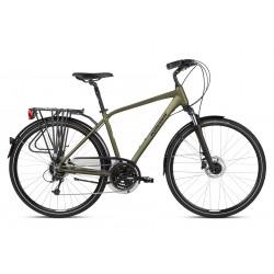 Rower trekkingowy KROSS Trans 5.0 Khaki 2021