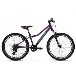 Rower górski KROSS Lea JR 2.0 Fioletowy 2021