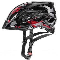 Kask rowerowy UVEX Air Wing Black/Red