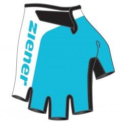 Rękawice junior ZIENER Corrie Pool Blue